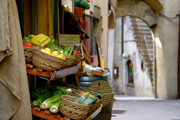 Scansano village in southern Tuscany südliche Toskana süden