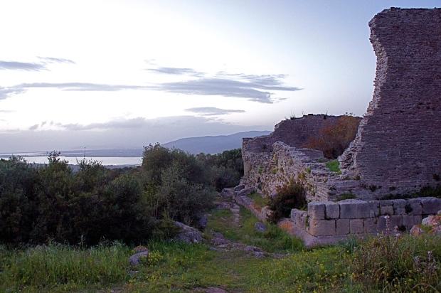 romancity ruins in southern Tuscany südlich süden Toskana