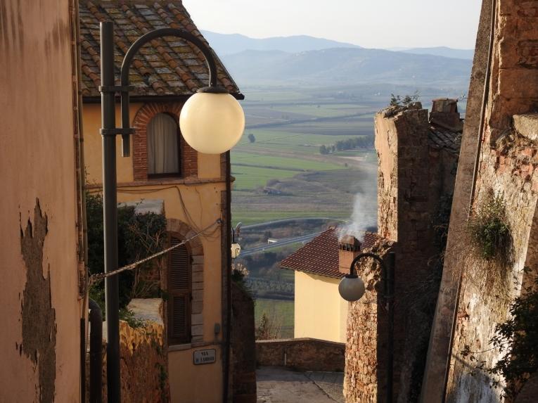 Montepescali village southern Tuscany