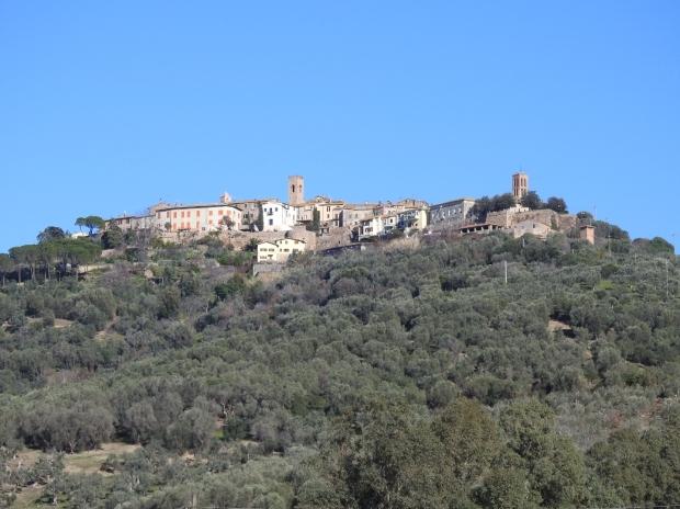 Montepescali hilltop village southern Tuscany