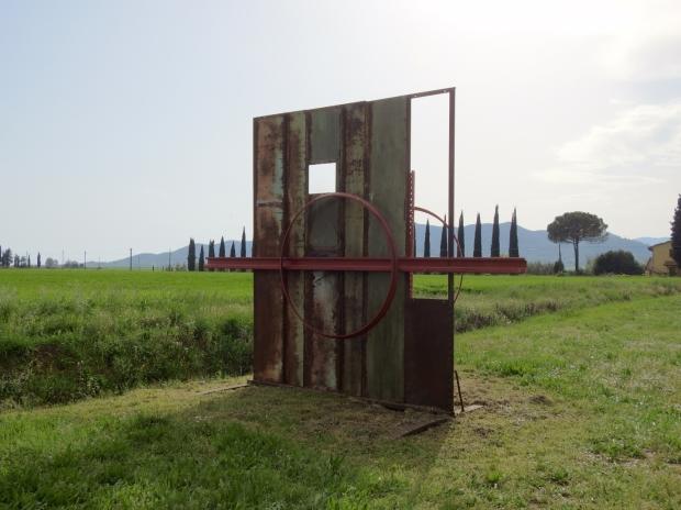 Giardino Viaggio di Ritorno by Rodolfo Lacquaniti land art in southern Tuscany Italy Toskana イタリア Италия 意大利